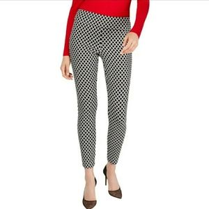 🔥INC Jacquard Diamon Skinny Regular Pants
